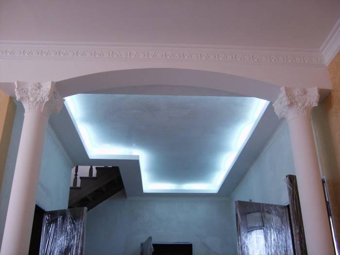 Арки с подсветкой фото